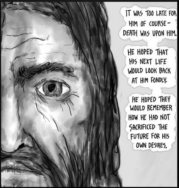 Ote sarjakuvasta http://existentialcomics.com/comic/1